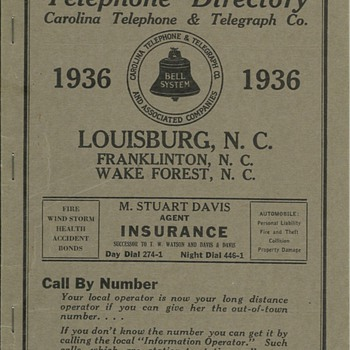 Carolina Telephone - Telephones