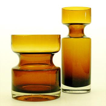 Vases No. 1377, Tamara Aladin (Riihimáki lasi, 1963) - Art Glass