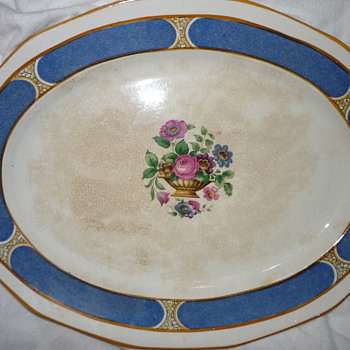 Booths Ceylon Ivory Silicon China - China and Dinnerware