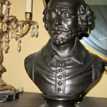 Black Basalt Busts of Shakespeare (Wedgwood) - China and Dinnerware