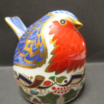 Royal Crown Derby Robin.