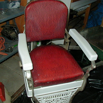 1920's/1930's Koken Barber Chair - Furniture