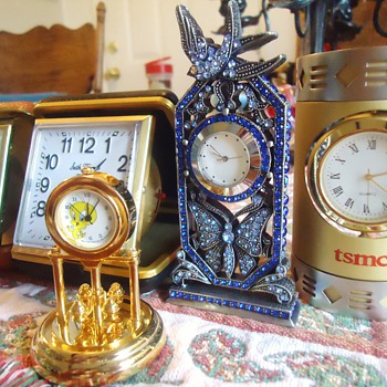 Item	Price	Qty	Total # 15320414 - Lot of 5 Small Desk Clocks - Rhinestone	$7.38	1	$7.38