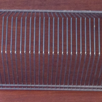 1950 wire 45 / Vinyl record holder. - Mid-Century Modern