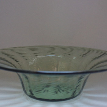Whitefriars Sea Green Bowl