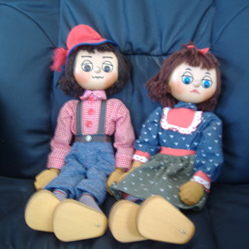 Kosi and Kandy - Dolls