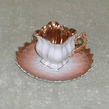 Porcelain Demitasse cup &amp; saucer