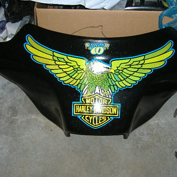 1976 Harley Davidson Liberty Edition Fairing...