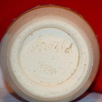 Pottery Cruet Pourer