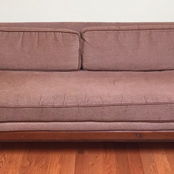 Does anyone know what kind of sofa this is or if it may be from a designer?  - Mid-Century Modern