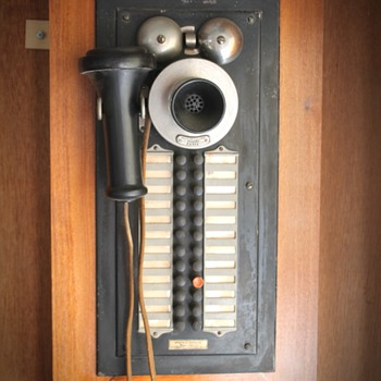 Western Electric VERY RARE Inter-Phone and Western Electric Railroad Phone - Telephones