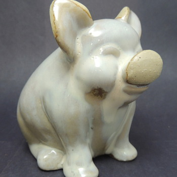 Ceramic Pig - Help ID Please! - Animals