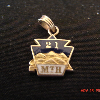 14K Unknown Keystone Society Pin Made by CH. Elliott