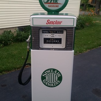 Wayne 505 Sinclair Gas Pump