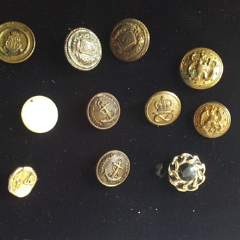 buttons need help with history and are they of any value  - Sewing