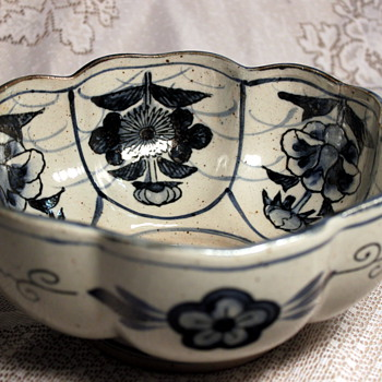 Blue and White Porcelain Bowl, presumably Chinese
