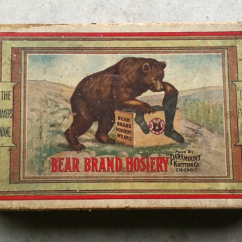 BEAR BRAND hose box - Advertising
