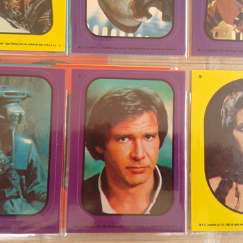 STAR WARS STICKERS 1983 - Paper