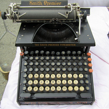 Smith Premiere Typewriter #10 with Octagonal Keys at Alameda - Office