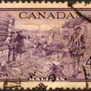 "1949 - Canada ""Halifax"" Postage Stamp - Stamps"