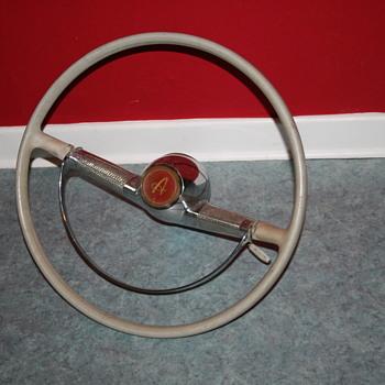 simca ariane 1956 steering wheel