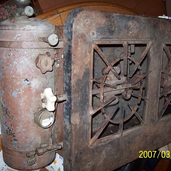 American Antique Kitchen Kook