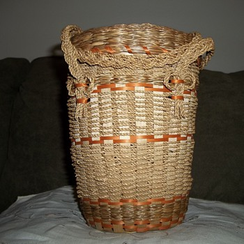 Penobscot String Basket - Native American