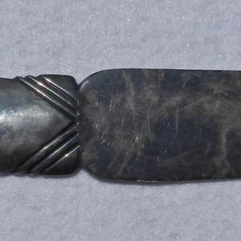 1920&#039;s-30&#039;s Navajo Sterling Silver Letter Opener 