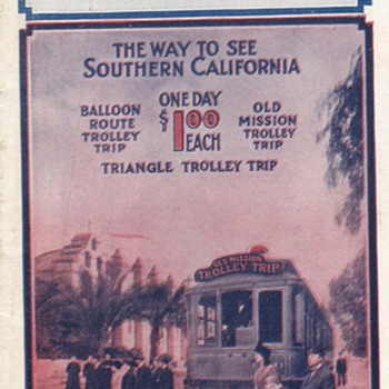 PACIFIC ELECTRIC RAILWAY - Railroadiana