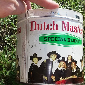 Dutch Masters cigar tin