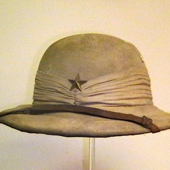 WW II Japanese Officer Sun Helmet - Military and Wartime