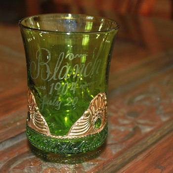 Antique Colorado Emerald Green EAPG - Glassware