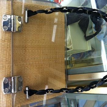 Vintage Ferragamo Lucite bag?