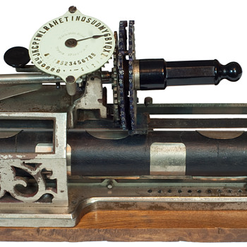 Columbia 1 typewriter - 1885 - Office