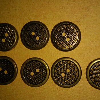 set of the same buttons  - Sewing