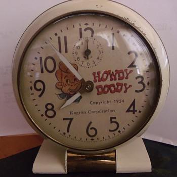 1954 Howdy Doody Alarm Clock