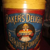 Antique Baker&#039;s Delight Baking Powder Tin