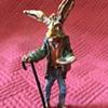 Austrian Cold Painted Bronze Panhandler Hare