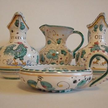 Italian Pottery - Art Pottery