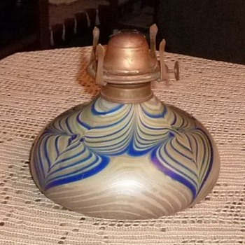 Oil lamp...maker unknown - Lamps