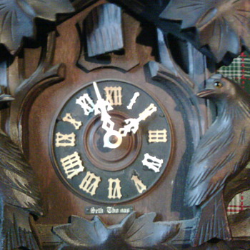 Seth Thomas clock from the late 1800's or early 1900's