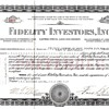 Fidelity Investors Inc 1930 Preferred Certificate