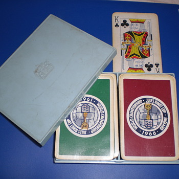 Thomas De La Rue 1966 Double Deck - Cards