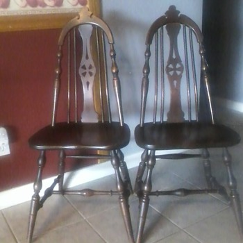 S.K Pierce and son chairs from the past...
