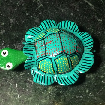 Bobble-head turtle from Huatulco, Oaxaca, Mexico