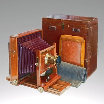 Anthony Clifton Camera, 1898 – 1906 - Cameras