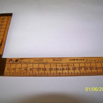 Lufkin L Ruler - Tools and Hardware