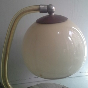 """kunstglas arnstadt"" bed side lamp"