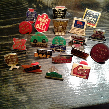 Cool enamel pin collection AGB