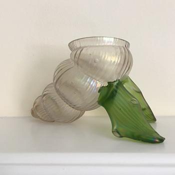 Kralik soie de verre shell